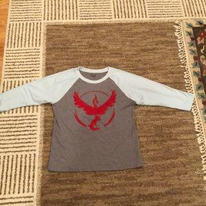 Boys Next Level size Medium Team Valor Shirt
